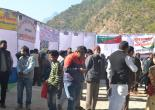 Multipurpose mega camp by DLSA TEHRI In Ghanshali on 2/12/2017